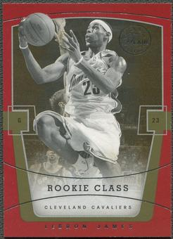 2003/04 Flair Final Edition #75 LeBron James Rookie #145/799