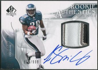 2009 SP Authentic #390 LeSean McCoy Rookie Patch Auto #016/999