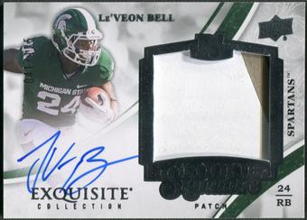 2013 Exquisite Collection #127 Le'Veon Bell Rookie Patch Auto #041/125
