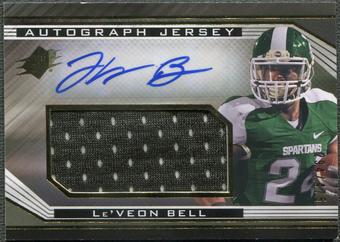 2013 SPx #60 Le'Veon Bell Rookie Jersey Auto #294/475