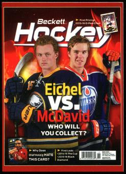 2015/16 Connor McDavid & Jack Eichel Rookie Card (w/ Crosby and Lemieux !)