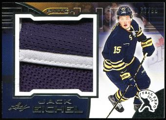 2015/16 Leaf 2015 Fall Expo Superlative Jack Eichel Exclusive Jersey Card 77/99