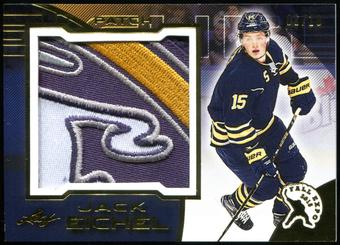 2015/16 Leaf 2015 Fall Expo Superlative Jack Eichel Exclusive Gold Sabres Logo Patch Card 8/10