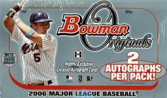 2006 Bowman Originals Baseball Hobby Box