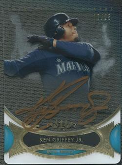 2014 Topps Tier One #TOAKG Ken Griffey Jr. Acetate Bronze Ink Auto #07/25