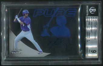2013 Leaf Trinity #KB1 Kris Bryant Pure Glass Blue Rookie Auto #17/25 BGS 9 (MINT)