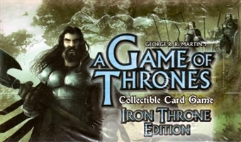 Fantasy Flight Games A Game of Thrones Iron Throne Edition Booster Box