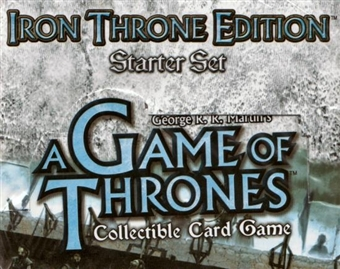 Fantasy Flight Games A Game of Thrones Iron Throne Edition Starter Box