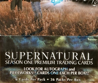 Supernatural Season 1 Hobby Box (2006 Inkworks)