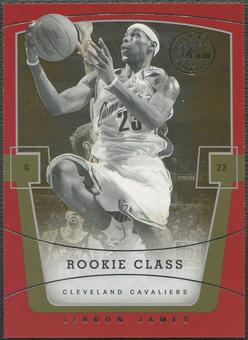 2003/04 Flair Final Edition #75 LeBron James Rookie #353/799