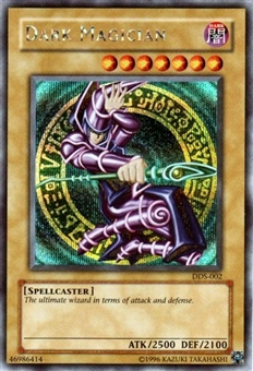 Yu-Gi-Oh Promo Single Dark Magician Secret Rare (DDS-002)