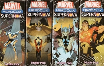 WizKids HeroClix Marvel Supernova Booster Pack