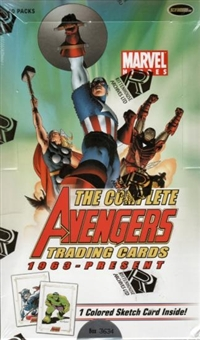 The Complete Avengers (1963 - Present) Trading Cards Box (Rittenhouse 2006)