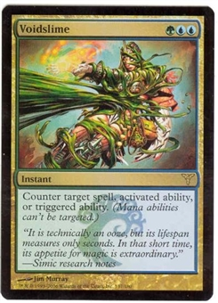 Magic the Gathering Dissension Single Voidslime FOIL