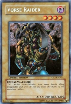 Yu-Gi-Oh Limited Edition Tin Single Vorse Raider Secret Rare (CT2-EN003)