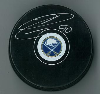 Ryan O'Reilly Autographed Buffalo Sabres Hockey Puck