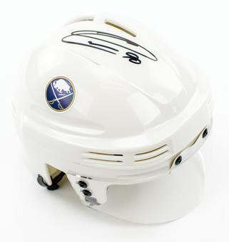 Ryan O'Reilly Autographed Buffalo Sabres White Mini Helmet