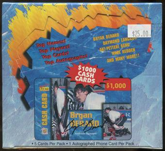1995 Signature Rookies Auto-Phonex Hockey Hobby Box