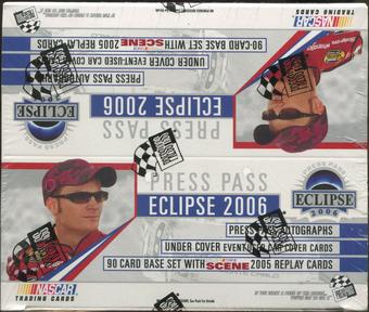 2006 Press Pass Eclipse Racing Retail Box