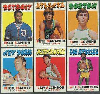 1971/72 Topps Basketball Complete Set (EX-MT)