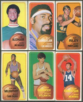 1970/71 Topps Basketball Complete Set 2 (EX-MT)