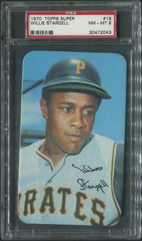 1970 Topps Super Baseball #19 Willie Stargell PSA 8 (NM-MT)