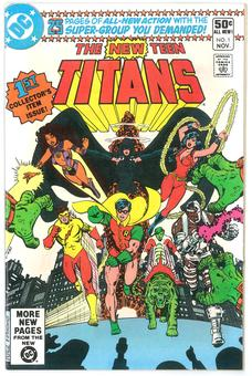 New Teen Titans #1 VF/NM
