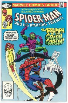 Spider-Man And His Amazing Friends #1 NM-