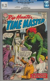 Rip Hunter Time Master #10 CGC 9.2 (W) *1206052002*