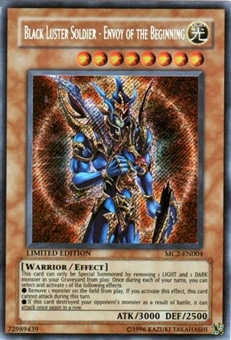 Yu-Gi-Oh Master Collection 2 Black Luster Soldier Envoy of the Beginning Secret Rare