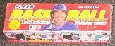 1989 Fleer Baseball Factory Set (Colorful Box)