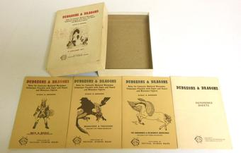 Original Dungeons & Dragons Box Set 7th Printing