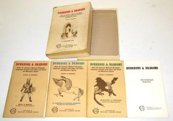 Original Dungeons & Dragons Box Set 5th Printing