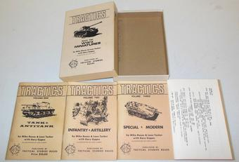 Tractics - Rules for WWII Miniatures TSR Box Set