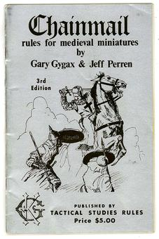 Chainmail Rules For Medieval Miniatures (3rd Edition, 2nd Print)