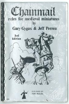 Chainmail Rules For Medieval Miniatures (3rd Edition, 7th Print)