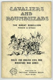 Cavaliers and Roundheads RPG Rules for English Civil War Miniature War Games