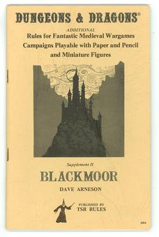 Original Dungeons & Dragons Supplement II: Blackmoor 8th Print