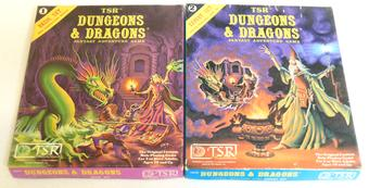 Dungeons & Dragons Basic and Expert Rules Box Sets