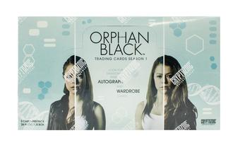 Orphan Black Season One Trading Cards Box (Cryptozoic 2016)
