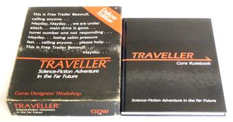 Traveller RPG Deluxe Edition and Core Rulebook