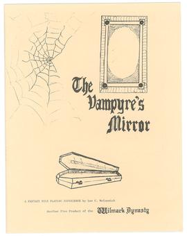 Wilmark Dynasty RPG Module - The Vampyre's Mirror