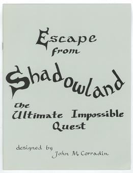 Wilmark Dynasty RPG Module - Escape from Shadowland