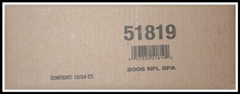 2006 Upper Deck SP Authentic Football Hobby 12-Box Case