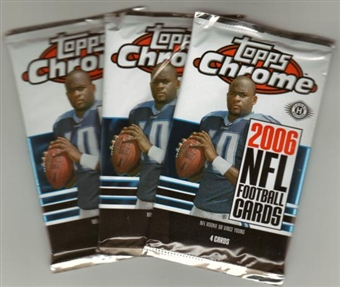 2006 Topps Chrome Football Hobby Pack
