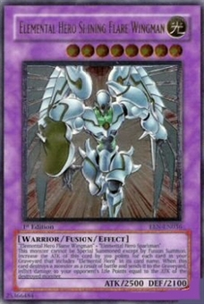 Yu-Gi-Oh Elemental Energy Single Elemental Hero Shining Flare Wingman Ultimate