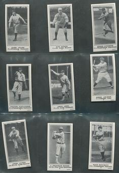 1916 M101-5 The Sporting News Baseball Reprint Complete Set