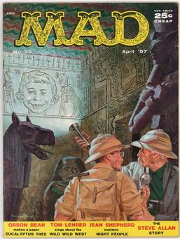 MAD Magazine #32 VF