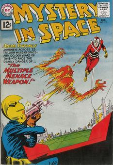 Mystery In Space #72 VF-