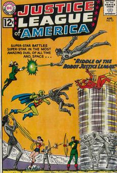 Justice League of America #13 VF-